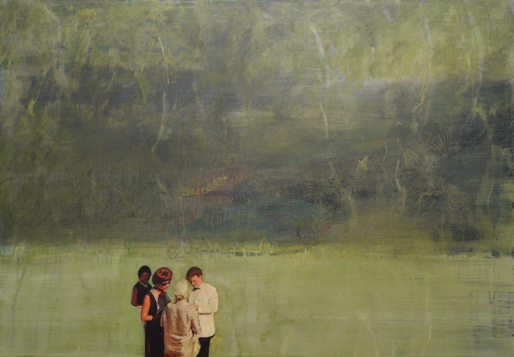 "Thomas Kälberloh: ""Junger Mann!"", 2016, 79,7 x 113,8 cm"