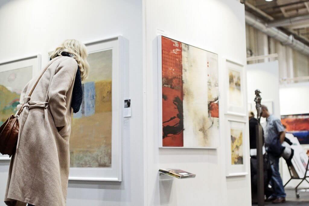Messe Impression © Affordable Art Fair