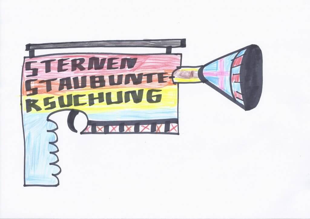 Stephan Jäschke: Sticker 5/9 aus der Edition Weltraum