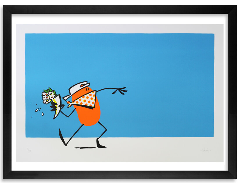 Dave the Chimp: The Flower Thrower