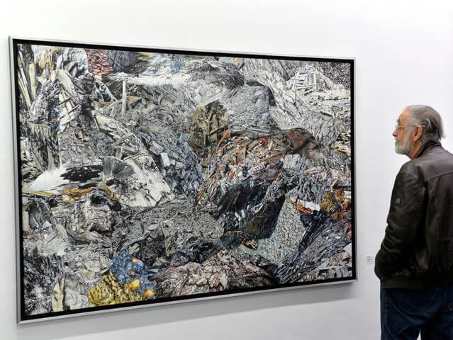 Eröffnung im Kunstverein Erlangen © Harald Sippel