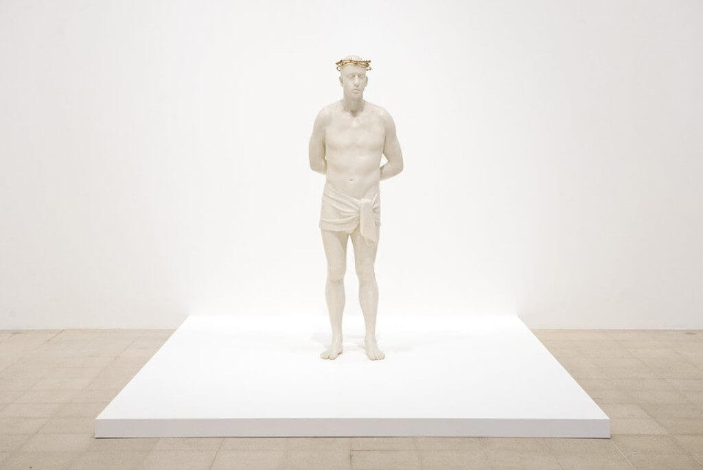 Mark Wallinger, Ecce Homo, 1990, Courtesy of König Galerie, Berlin