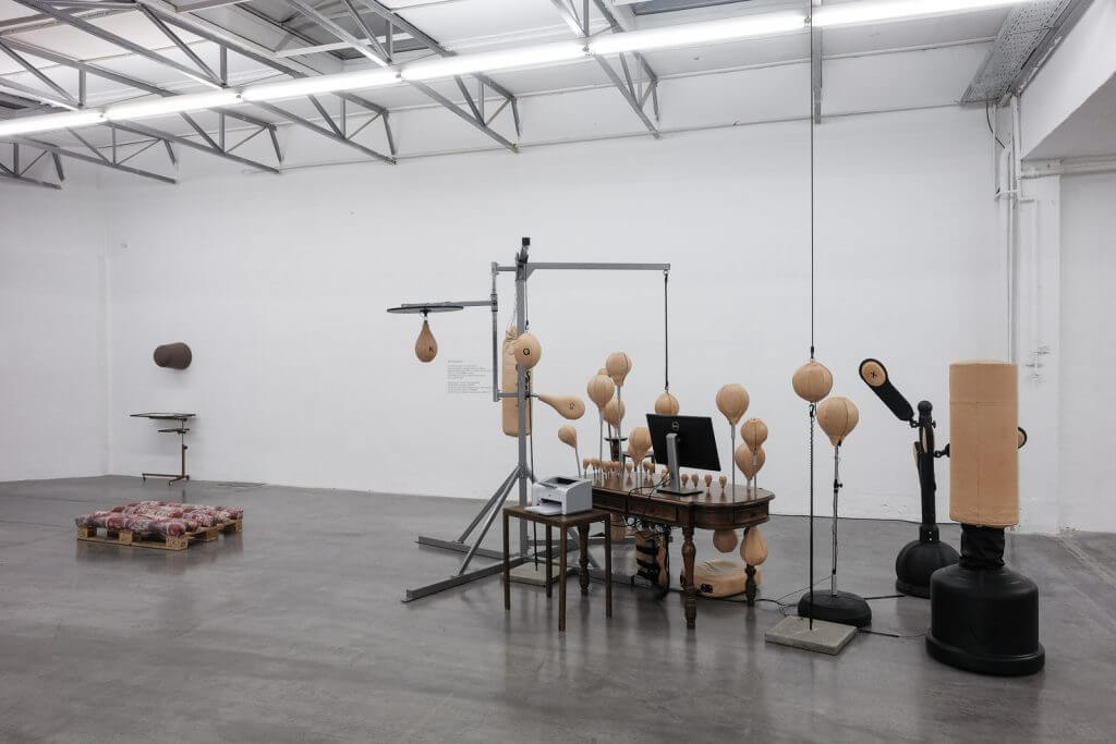"""BLESS: N° 56 Worker ́s Delight, Installation View, photo: Jörg Koopmann"""