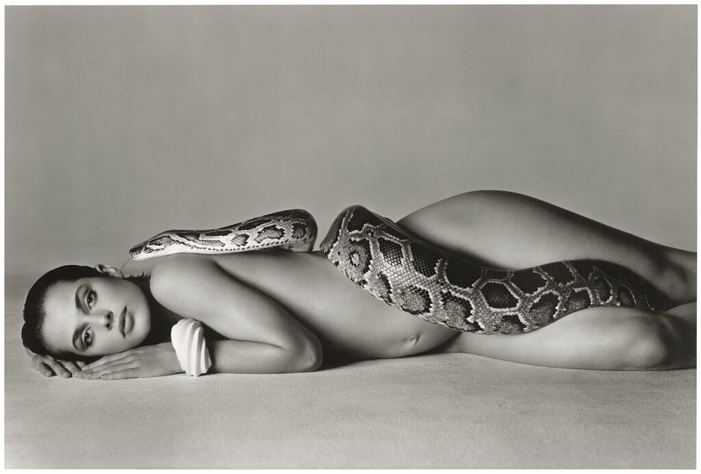 Richard Avedon, Nastassja Kinski and the serpent, Los Angeles, 1981, Printed 1982 © The Richard Avedon Foundation.