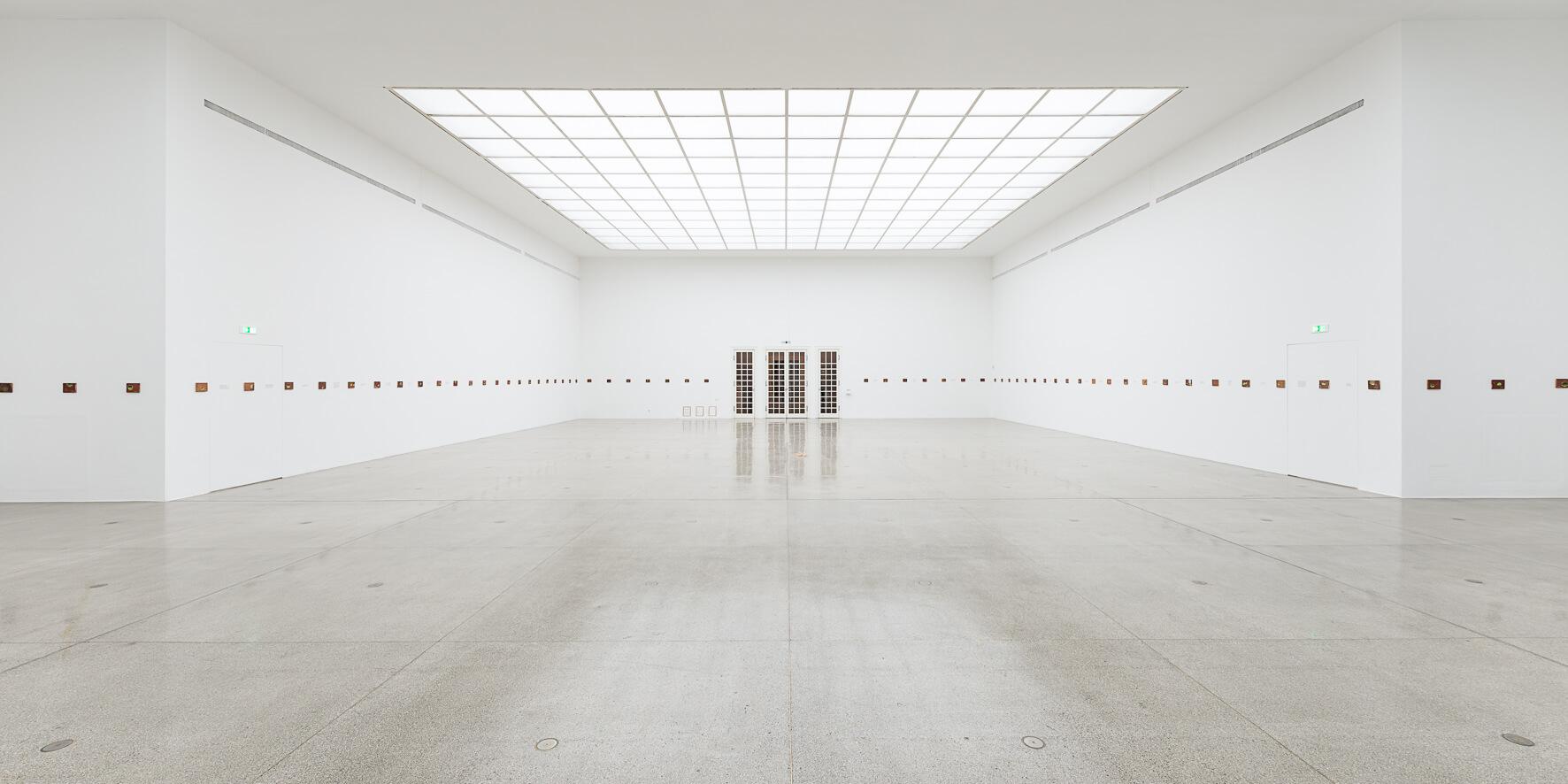 Francis Alÿs, Le temps du sommeil, Ausstellungsansicht, Secession 2016; Foto: Dorit Aust.