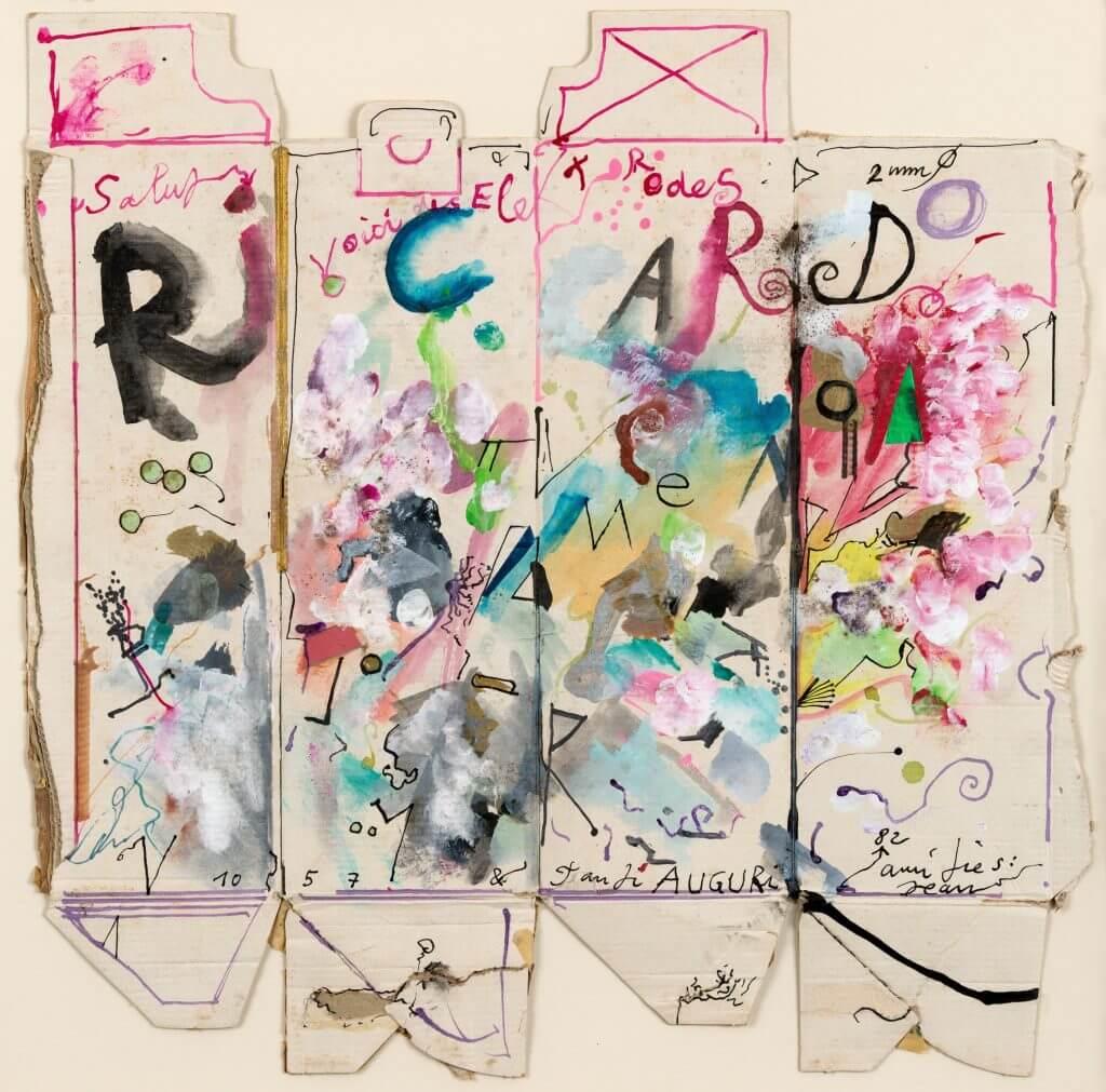 Liebesbekundung von Jean Tinguely an Niki de Saint Phalle