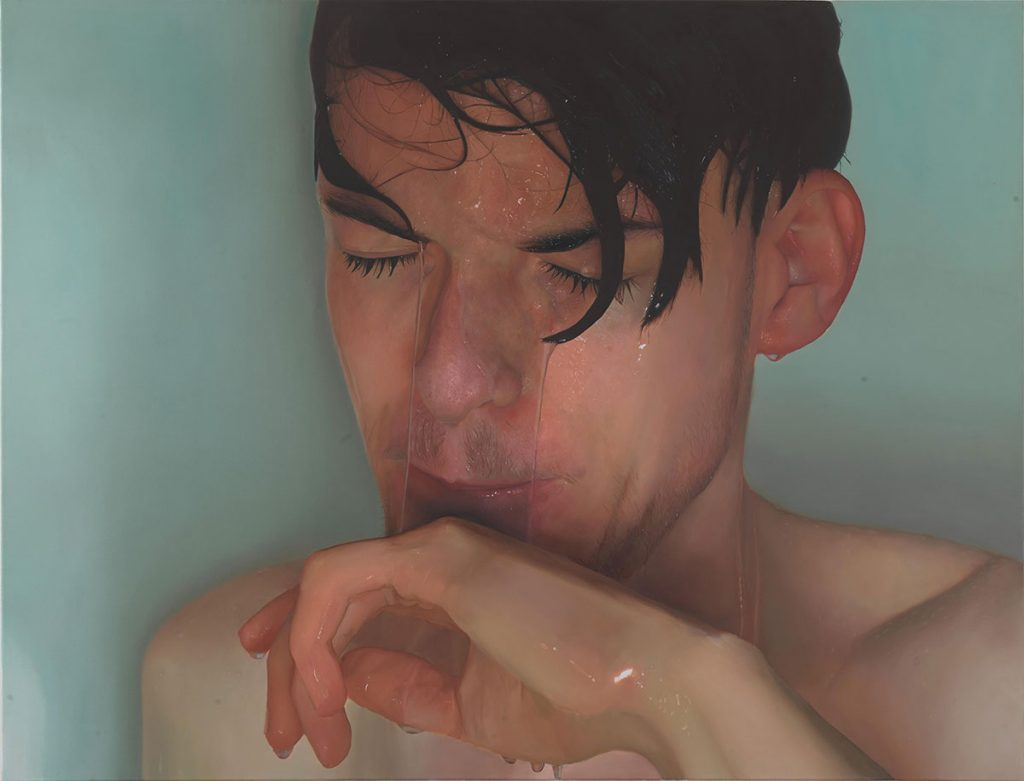 Simon Kellermann, Warmth, 2016, Öl auf Leinwand, 130 x 170 cm