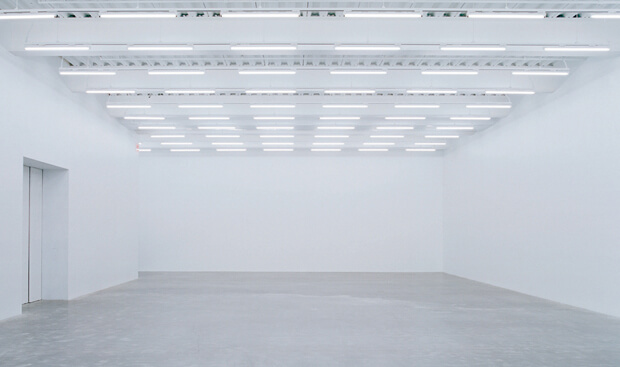 The New Museum of Contemporary Art, New York, Gallery Interior.
