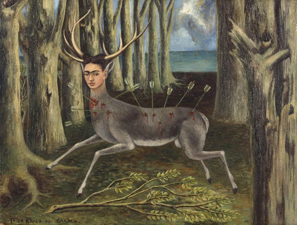 Frida Kahlo: Der kleine Hirsch, 1946 © Banco de Mexicó, Diego Rivera Frida Kahlo Museums Trust / VG Bild-Kunst, Bonn 2016