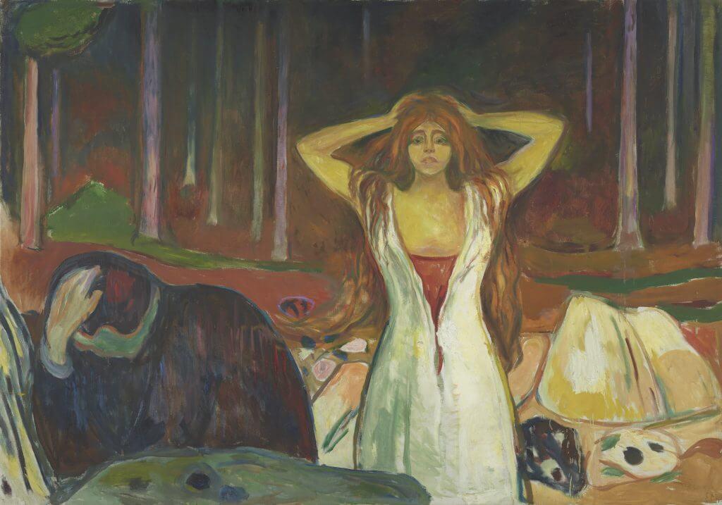 Edvard Munch: Asche, 1925 © Munch Museum, Oslo