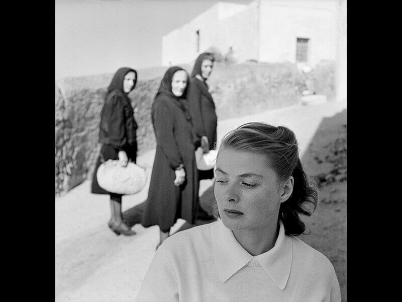 Gordon Parks: Ingrid Bergman at Stromboli, Stromboli, Italy  © The Gordon Parks Foundation