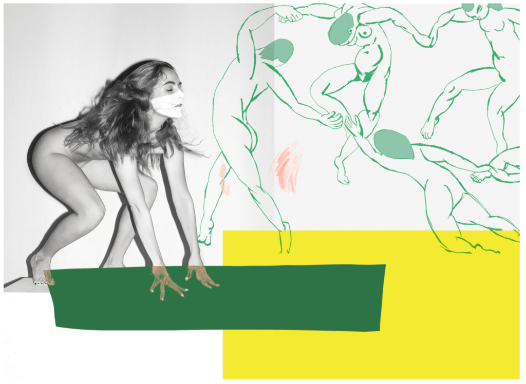 Esteban Schimpf: Bonnie (Dance after Matisse), 2016, Archival pigment print, 112 x 179 cm.