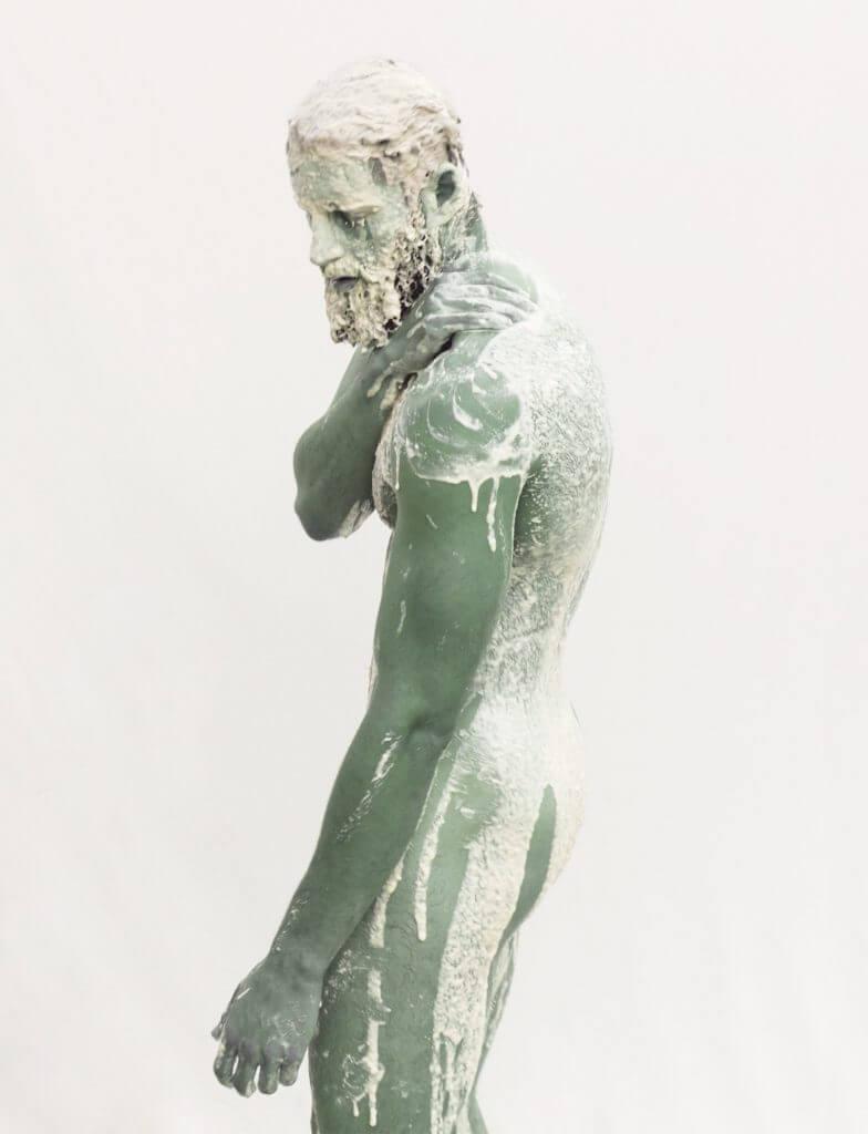 Esteban Schimpf: Melt No.1 (Jacob), 2016 Archival pigment print, 112 x 137 cm.