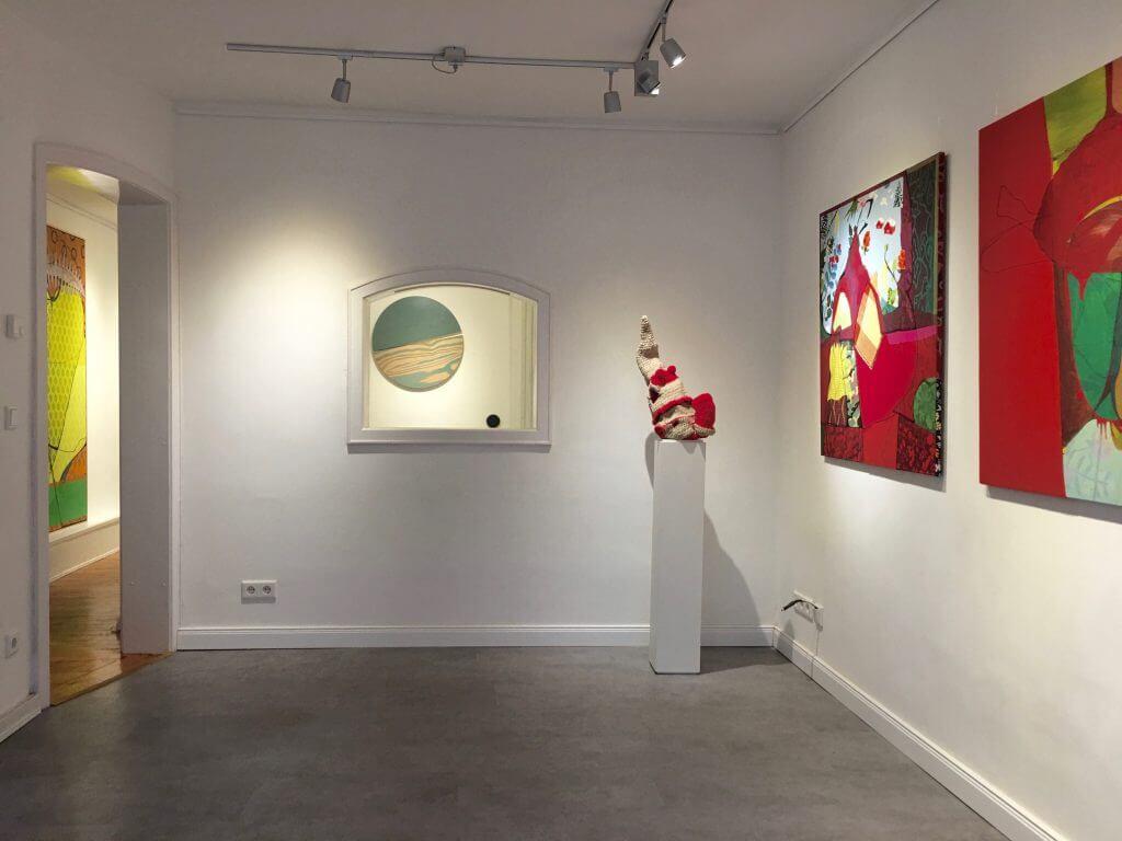 Installationsansicht Kunstzimmer Eppendorf