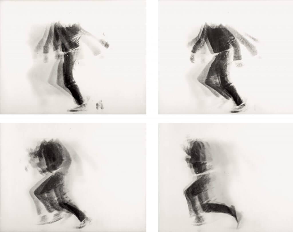 Alfons Schilling. The Falling Man,1969 © Nachlass Alfons Schilling