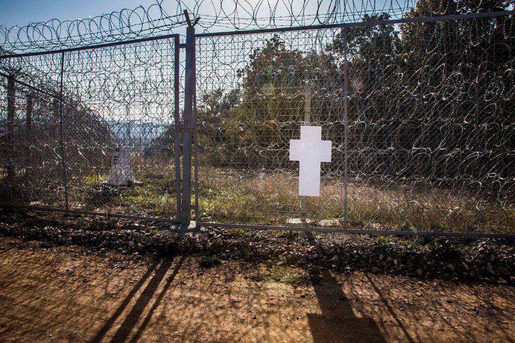 Erster Europäischer Mauerfall, Die Weissen Kreuze an der Europäischen Außengrenze, © Zentrum für Politische Schönheit
