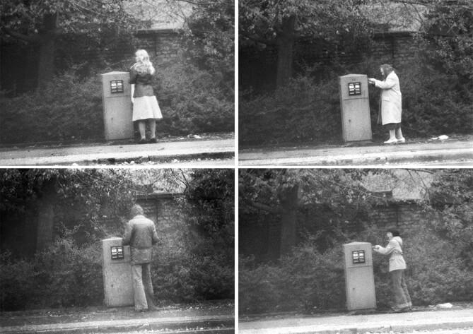 Jens Klein, Aus der Serie: Briefkasten (Fotos aus Personenakten der Stasi-Unterlagenbehörde), © Jens Klein