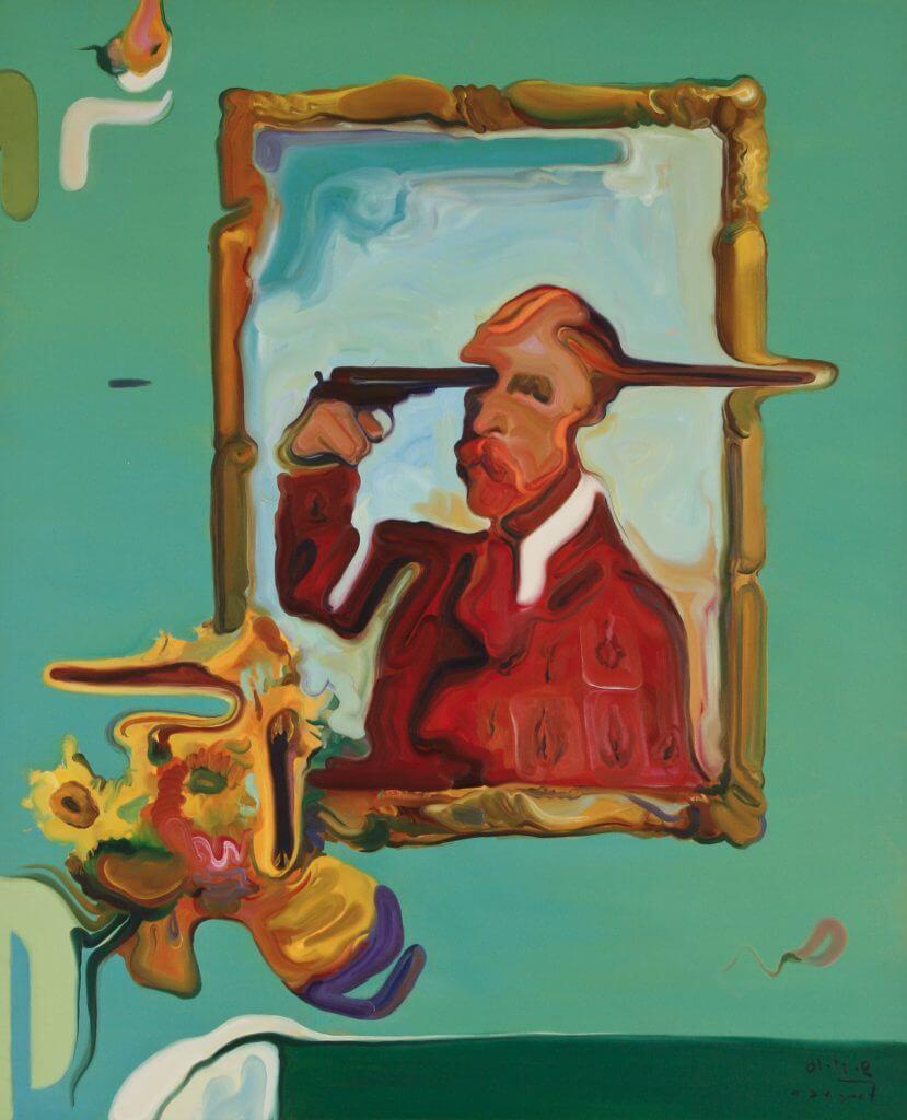 "Maxim Fomenko: ""Lust for Life"", 2016, Öl auf Leinwand, 150 x 120 cm. © Maxim Fomenko"