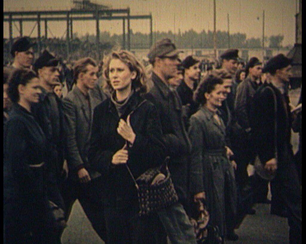 """Harun Farocki: """"Arbeiter verlassen die Fabrik"""" © Harun Farocki"""