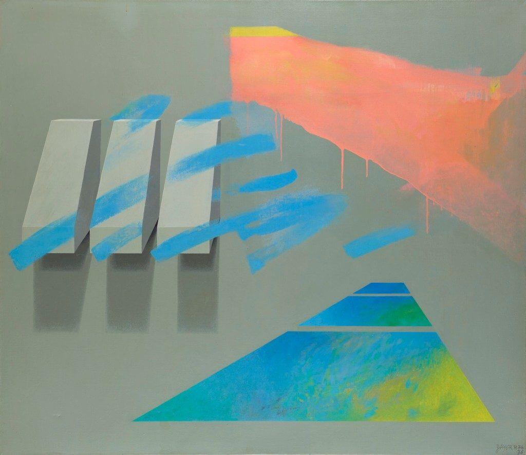 Hermann Bayer: Ohne Titel, 1974/1975, Privatsammlung, Liechtenstein