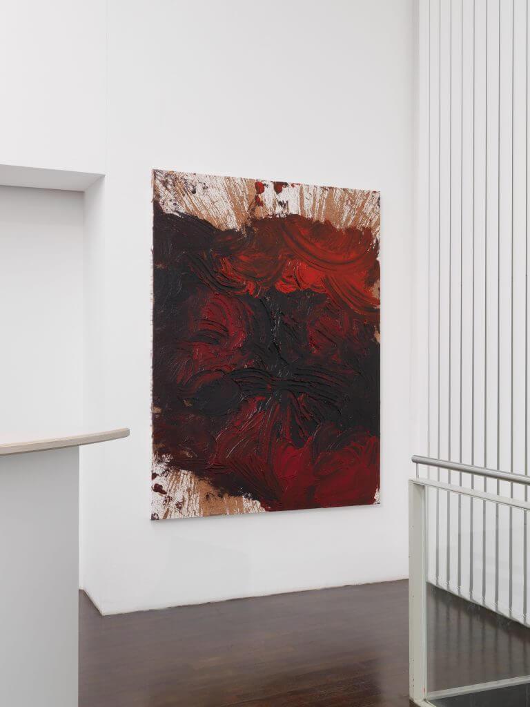 Kandel_Nitsch_Schüttbild 2015 200x150cm