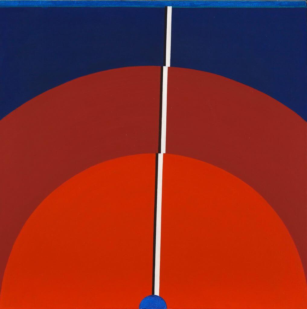 Franz Vornberger: Segmente, 1972, Foto: Annette Kradisch, © Kunstvilla im KunstKulturQuartier / Stadt Nürnberg