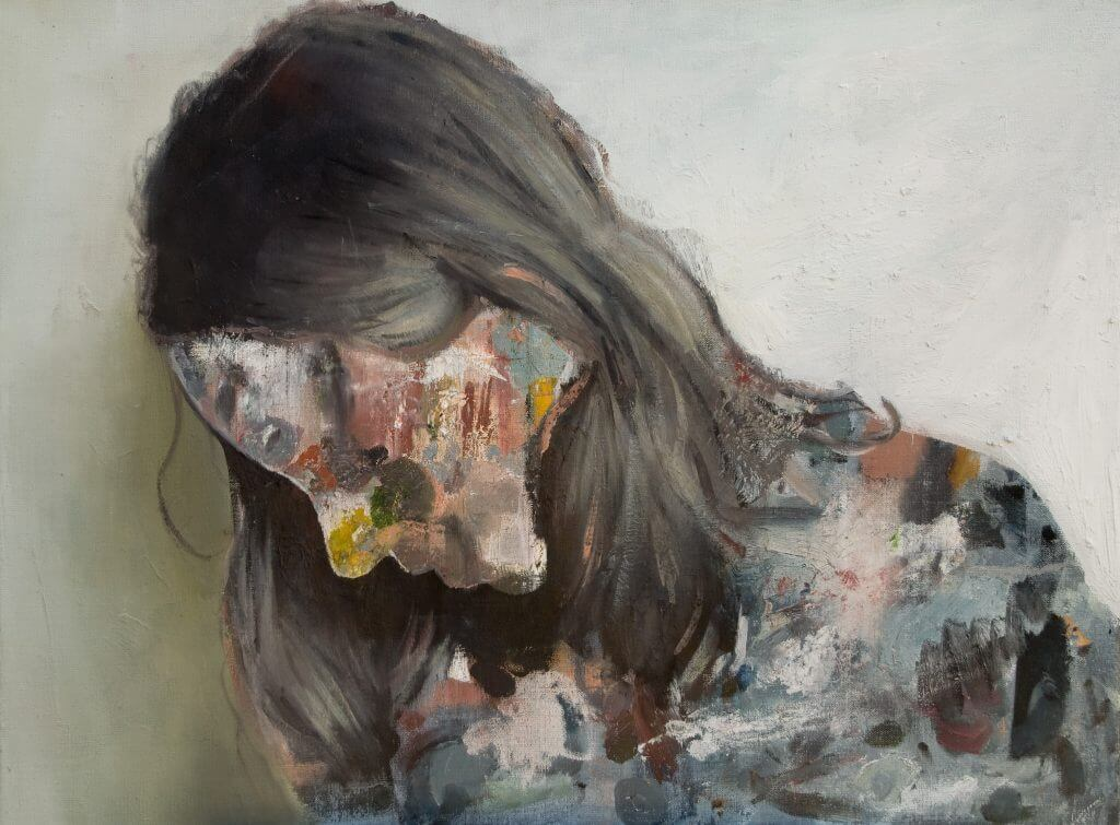 "Jochen Pankrath: ""Bodypainting III"", 2017. Courtesy Galerie Sturm"