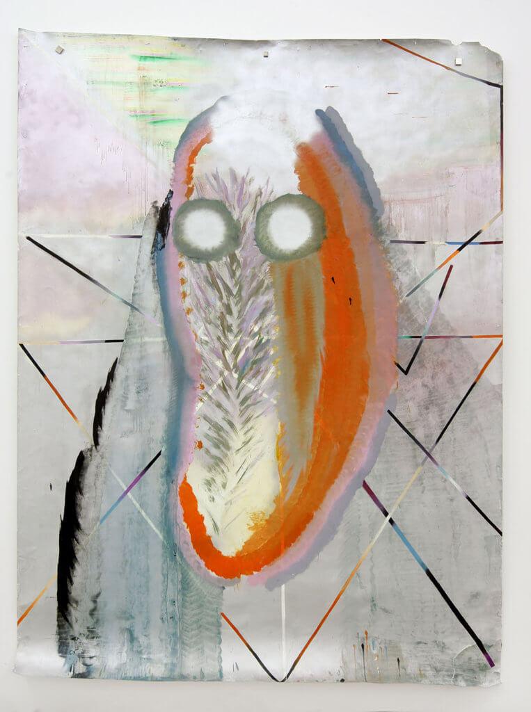 """Kerstin Brätsch: Untitled, 2007 """"Psychic""""-Serie, Sammlung der Künstlerin, Courtesy die Künstlerin und Gavin Brown's enterprise, New York / Rom © Kerstin Brätsch."""
