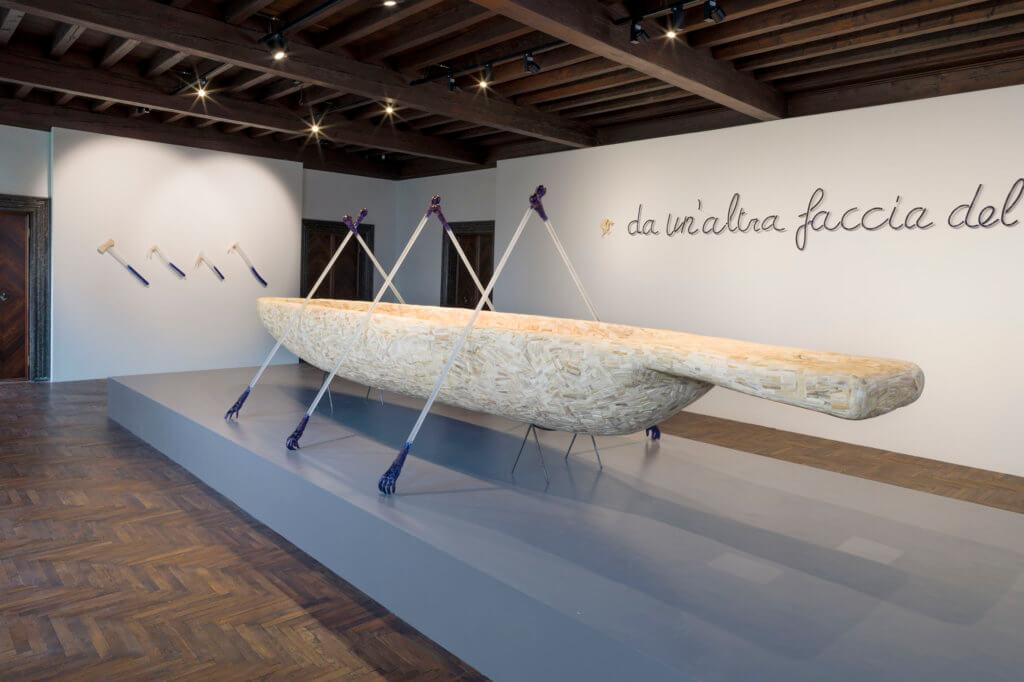 """Raumansicht """"Canoe"""" 1991, © Angelos bvba, Foto: Pat Verbruggen"""