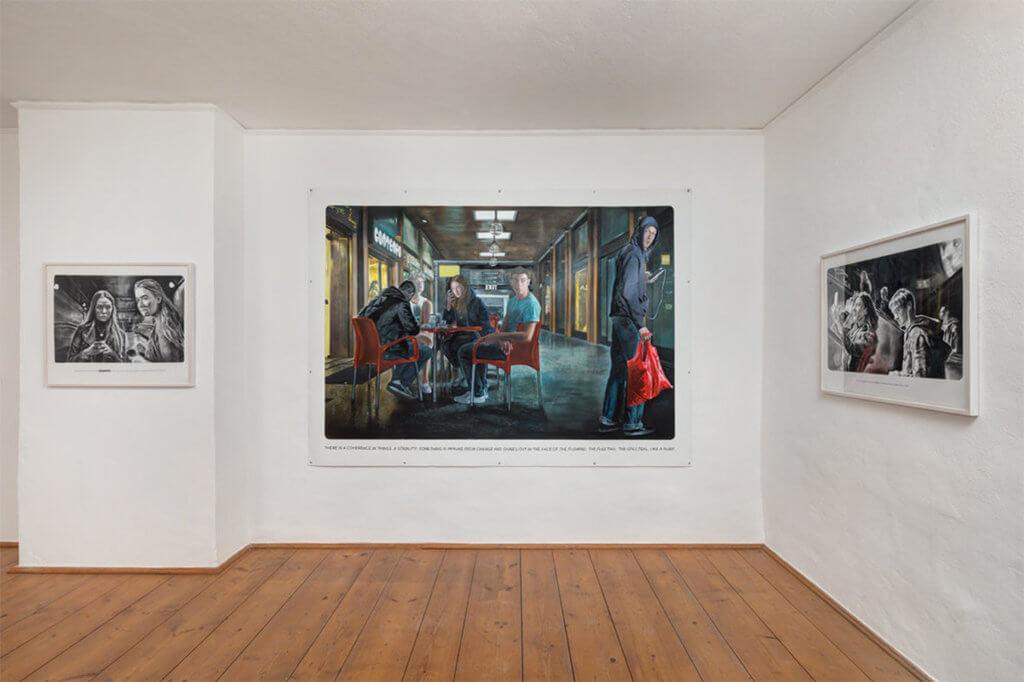 """Ausstellungsansicht """"Adele"""", Galerie Zink"""