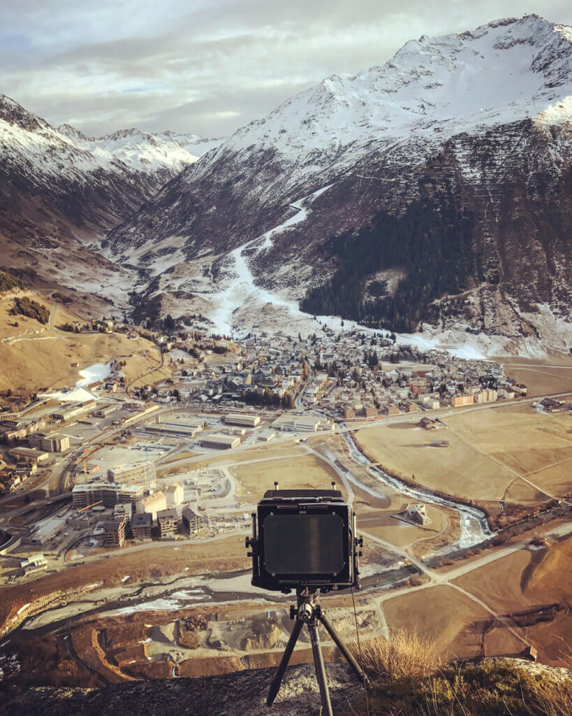 "Elmar Haardt, Work in Progress ""Andermatt"", 2016"