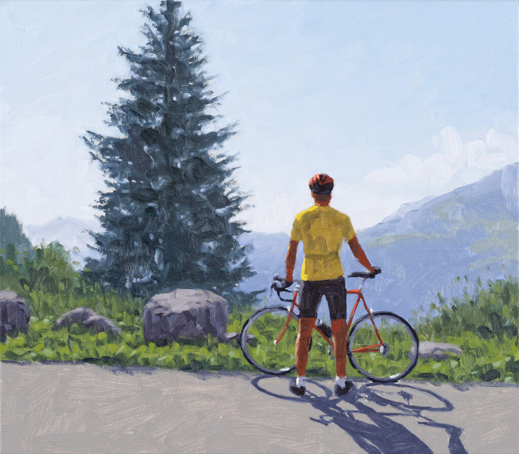 "Axel Gercke: ""Maillot Jaune 10-4"" © the artist"