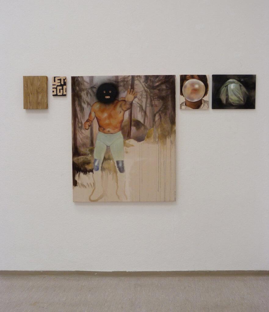 Ausstellungsansicht Kunstverein Kohlenhof, 2015