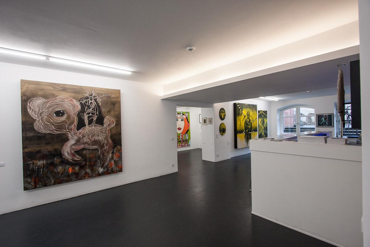 heliumcowboy, Galerieräume am Bäckerbreitergang, 2015