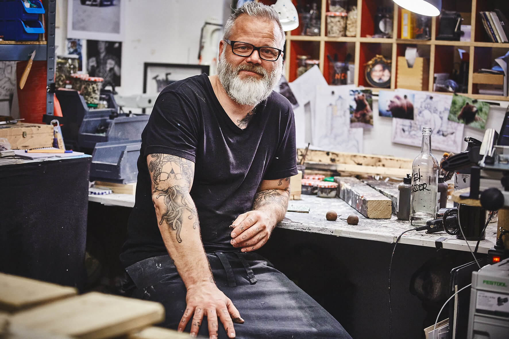 Porträt Jörg Heikhaus, Foto: Julia Schwendner