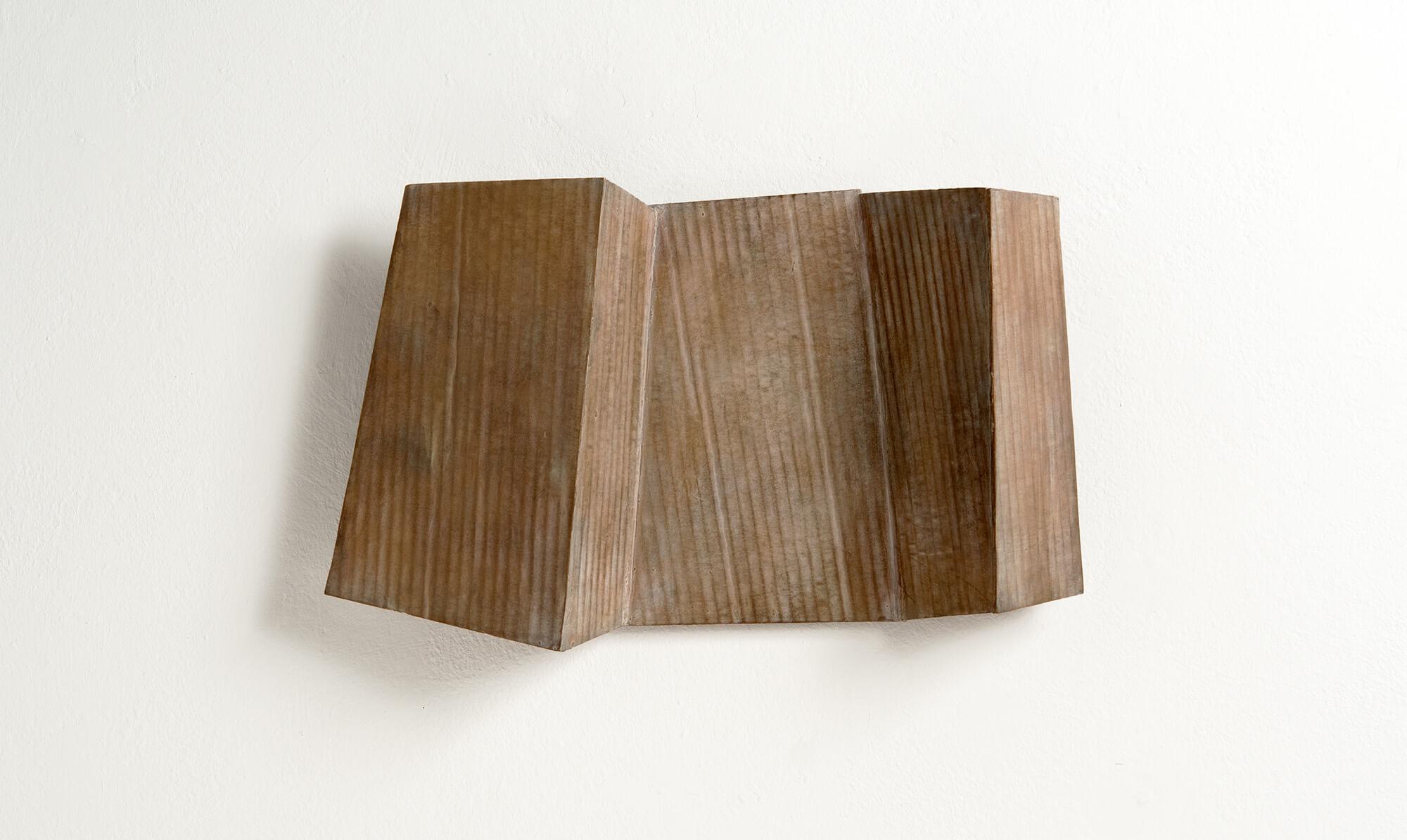 Jo Schöpfer: Relief IV-16, 2016, Bronzeguss (Unikat)