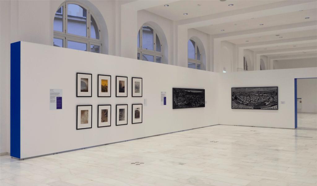 Ausstellungsansicht des Prix Pictet im Stuttgarter Haus der Wirtschaft, © Prix Pictet Ltd. 2017.