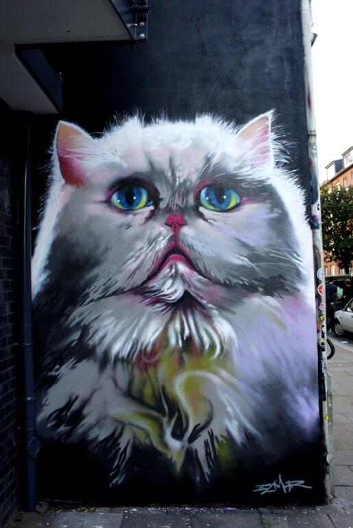 Katze, 2014 © Elmar Lause