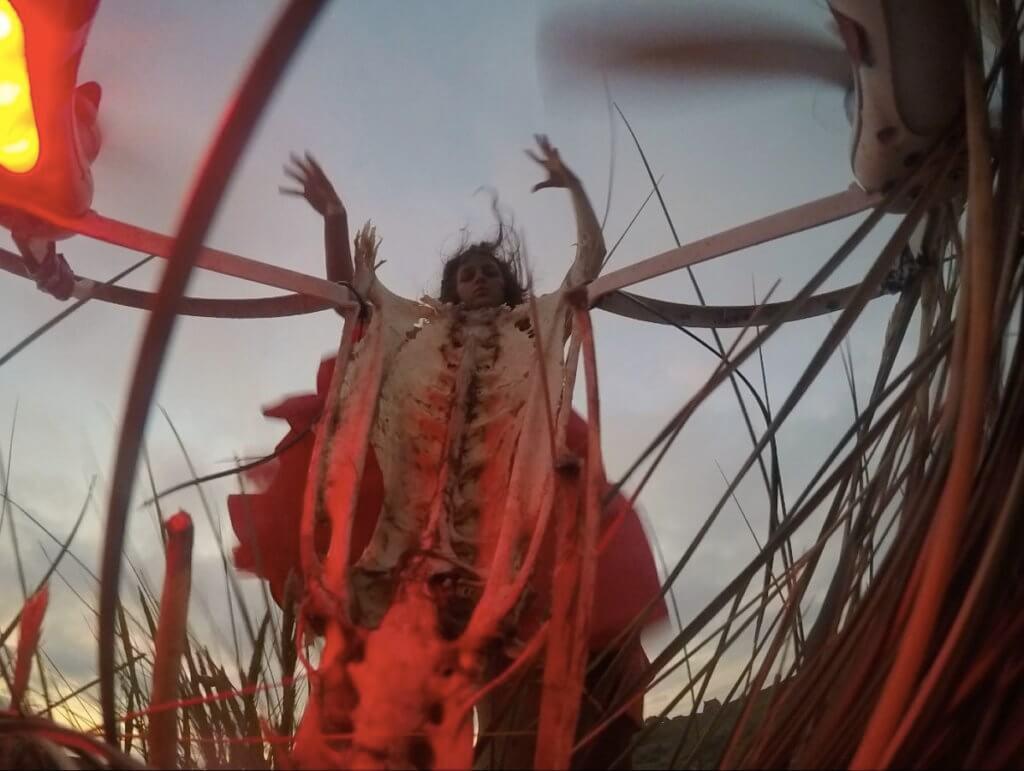"Raphaela Vogel: ""I smell a Massacre"", 2016, Videostill. Courtesy Raphaela Vogel und BQ, Berlin"
