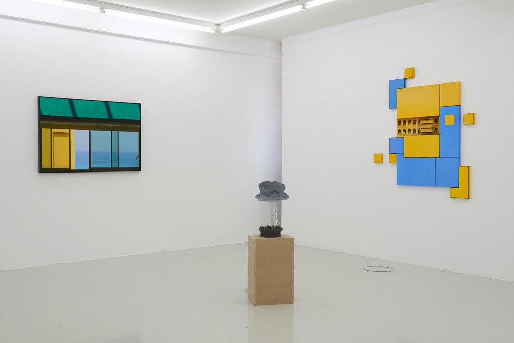 Ausstellungsansicht 'Johannes Kersting: Sonderfarben'