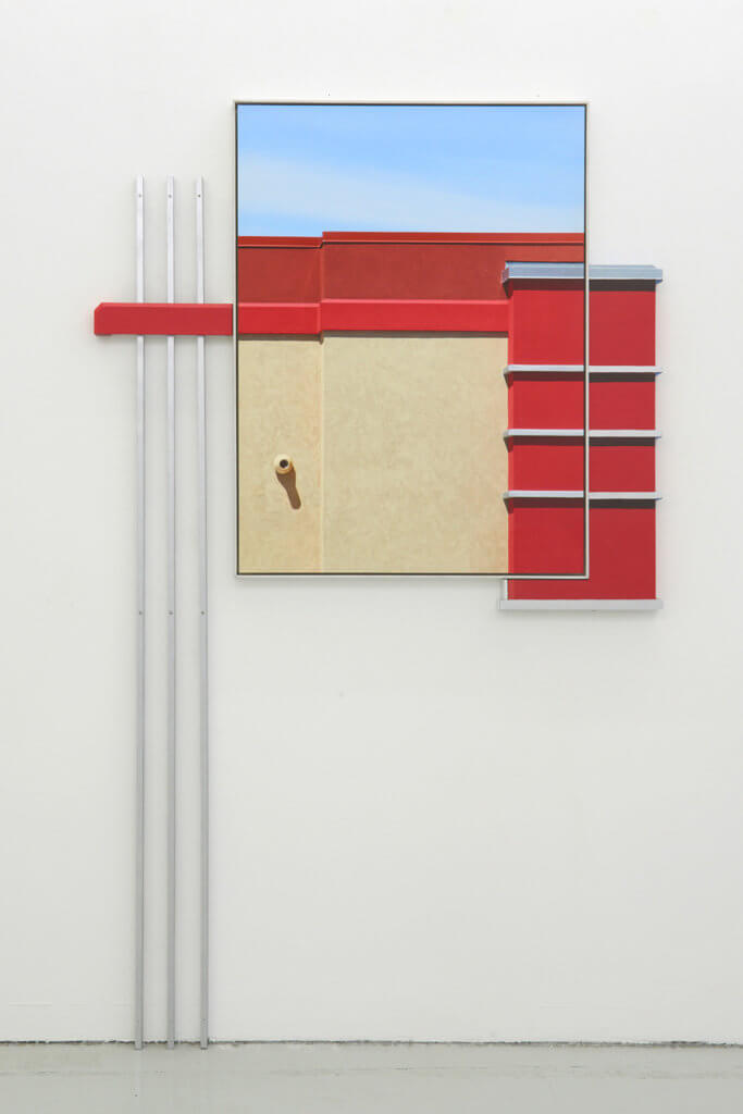 Johannes Kersting: 'Red Stripe (extended)', 2018