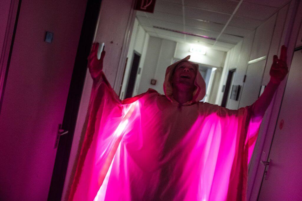 Titel: Der Nebelgeist, Kostüm: Pauline Langmaack, Foto: Conny Winter, Darsteller: Der Bürgermeister der Nacht