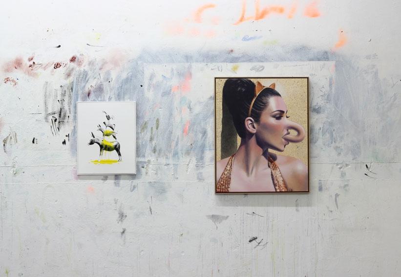 Johan Schäfer in der Affenfaust Galerie