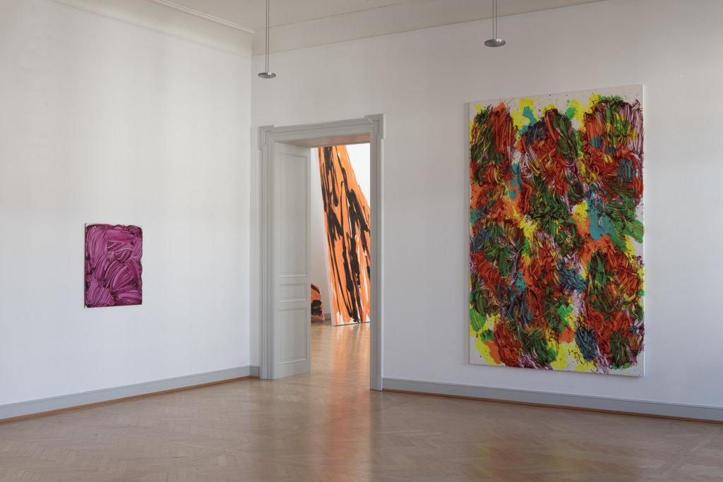 udy Millar, Installationsansicht Kunstmuseum St.Gallen Foto: Sebastian Stadler