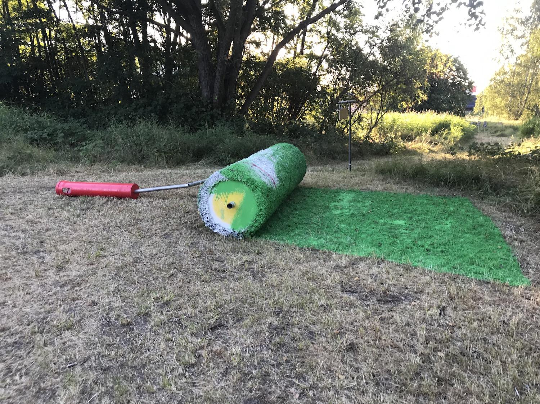 "MS Artville 2019, Aida Gómez ""Green Roller"", Foto: Martina John"