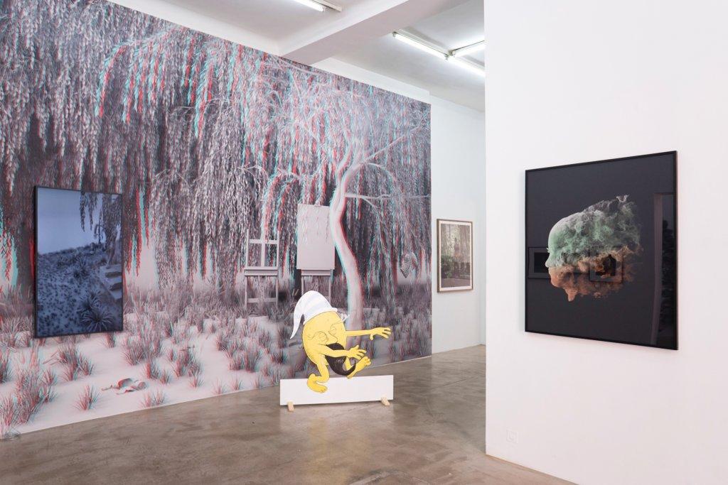 """Tim Berresheim: """"Sleep Walk"""" bei Ruttkowski;68 in Paris, Ausstellungsansicht © Ruttkowski;68."""