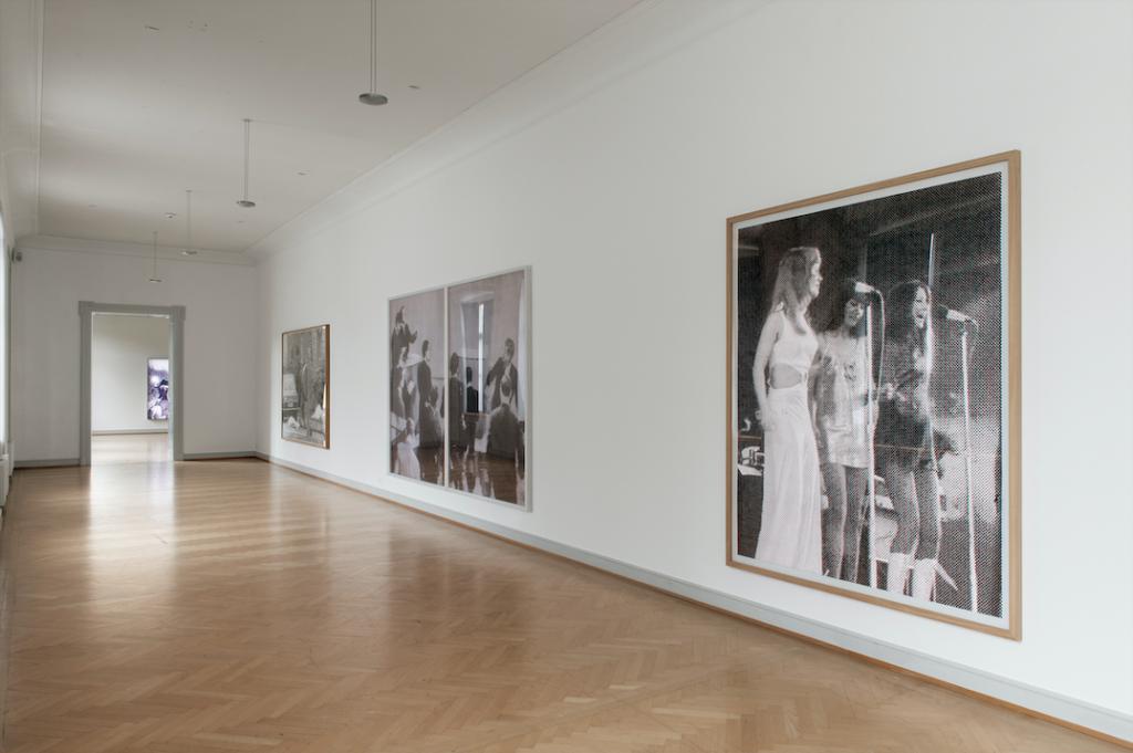 Alex Hanimann, Installationsansicht Kunstmuseum St.Gallen Foto: Sebastian Stadler