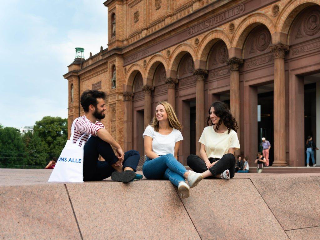 Hamburger Kunsthalle: 150 Jahre Jubiläumsfest.