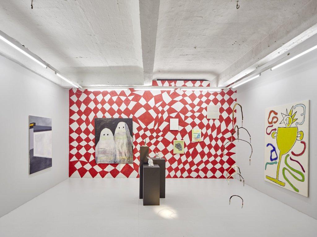 Galerie Oel-Früh zu Gast im Studio45, Foto © Edward Greiner.