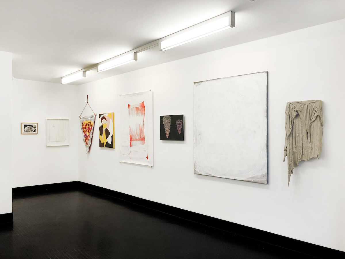 """Ausstellungsansicht """"Void & Sound"""", Galerie Kai Erdmann"""